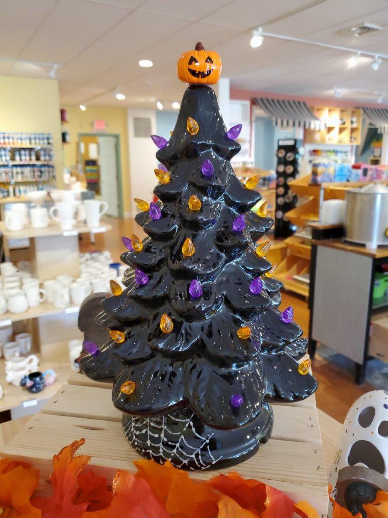 Halloween Tree Workshop Pottery Factory Brookfield