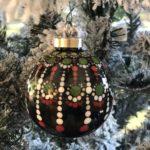 Mandala Christmas Ornaments