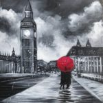 Virtual Paint and Sip – London in Love