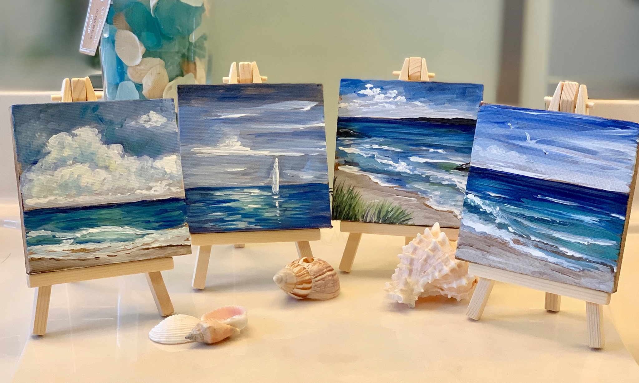 Paint and Sip – Mini Seascape Collection