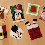 Glass Fusing – Christmas Ornaments