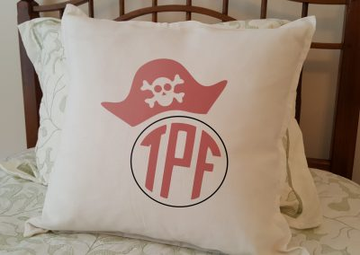 Pirate hat Initials
