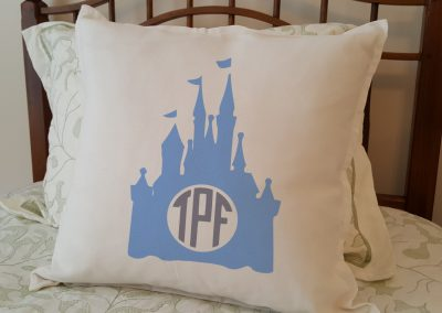 Princess Castle Initials