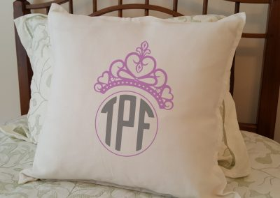 Princess Crown Initials