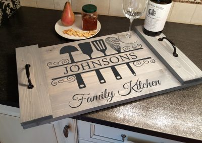 Family Kitchen Tray