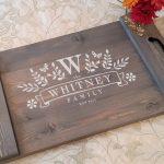 Wood Workshop – Wood Trays and Lazy Suzan