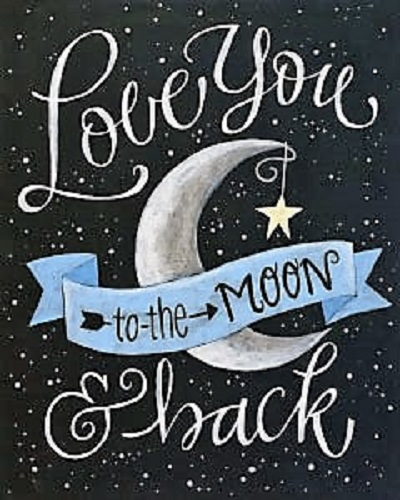 cork and canvas you to the moon pottery factory