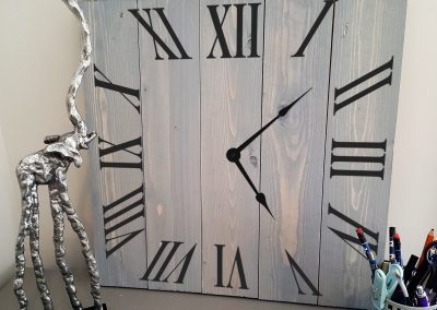 Roman Numbers Clock