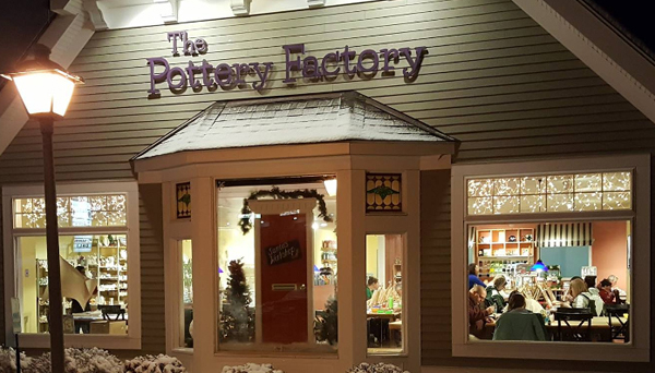 The Pottery Factory, Brookfield, CT